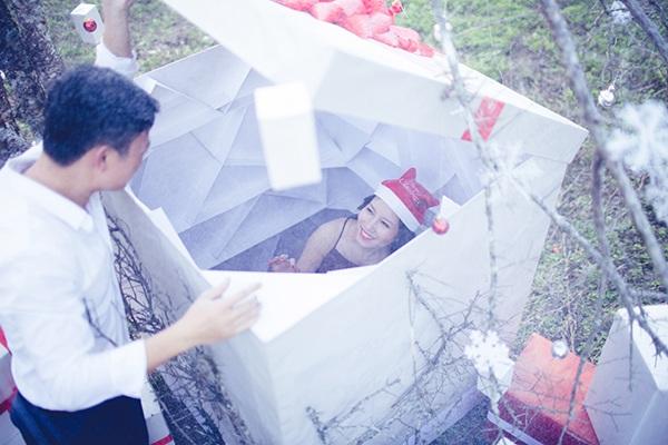 Bộ ảnh cưới đậm không khí Noel của cặp đôi Hà thành - 2