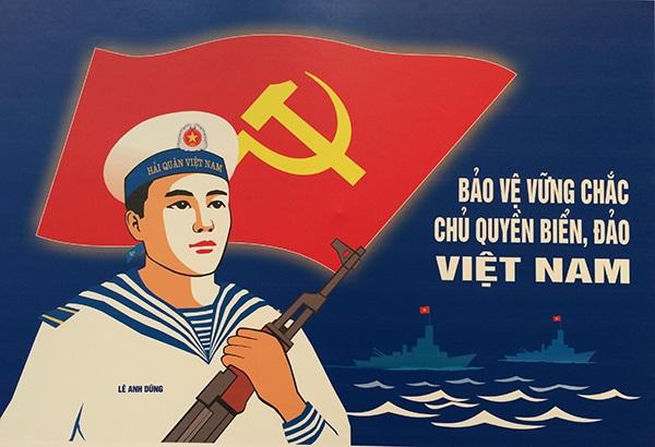 Tác phẩm Bảo vệ vững chắc chủ quyền biển đảo Việt Nam của Đặng Đình Dũng
