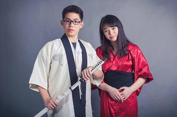 Tiến Thắng - Kim Chi. Cặp đôi đến từ Zone 9 Hermes, là học sinh lớp 11 Lý.