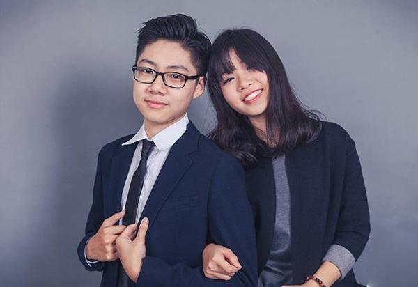Quốc Việt (lớp 12 Hóa) - Phương Nhi (lớp 11 Anh) . Cặp đôi đến từ Zone 5 Apollo.