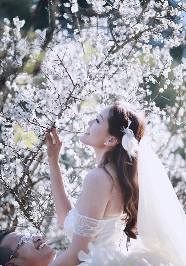 Bộ ảnh cưới tuyệt đẹp giữa thiên đường hoa mận trắng Mộc Châu - 6