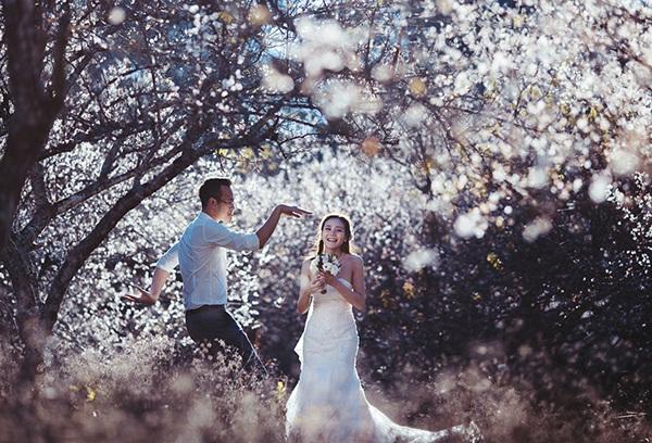 Bộ ảnh cưới tuyệt đẹp giữa thiên đường hoa mận trắng Mộc Châu - 1