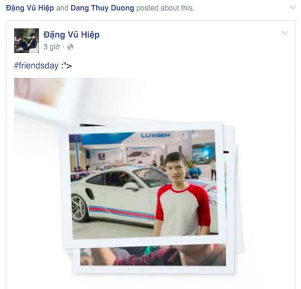 Rất nhiều bạn trẻ chia sẻ video được tạo bởi ứng dụng của Facebook