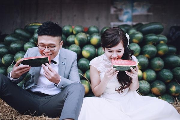 Bộ ảnh cưới đáng yêu từ Hà Nội tới Mộc Châu của cặp đôi Hồng Kông - 12