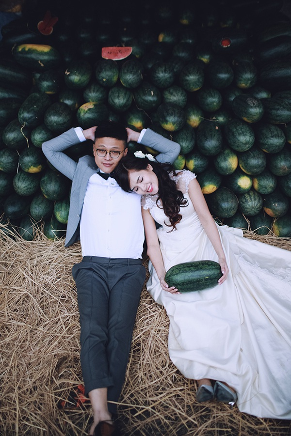 Bộ ảnh cưới đáng yêu từ Hà Nội tới Mộc Châu của cặp đôi Hồng Kông - 11
