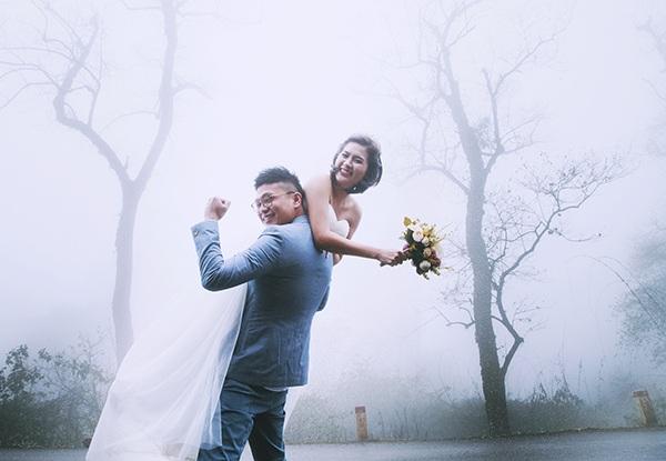 Bộ ảnh cưới đáng yêu từ Hà Nội tới Mộc Châu của cặp đôi Hồng Kông - 8