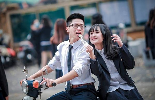 Ảnh kỷ yếu hồn nhiên tuổi học trò của teen Chu Văn An - 10