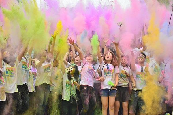 Happy Colour Run - Đường chạy sắc màu Hạnh phúc - Tôi yêu Tổ quốc tôi, là chuỗi sự kiện mang nhiều ý nghĩa do Trung ương Đoàn tổ chức, sẽ diễn ra tại Hà Nội, Tp.Hồ Chí Minh, Nha Trang, Kiên Giang, Hải Phòng.