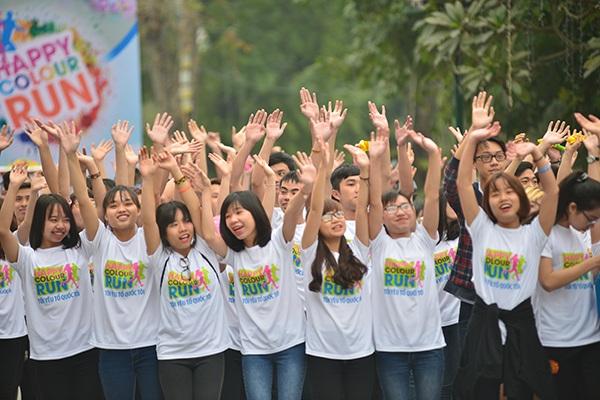 Sau khi diễn ra ở Hà Nội, đường chạy sắc màu sẽ được tổ chức thêm tại Thành phố Hồ Chí Minh, Hải Phòng, Kiên Giang, Khánh Hòa