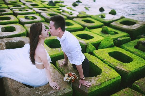 Một góc ảnh thú vị ở bãi đá Phú Yên