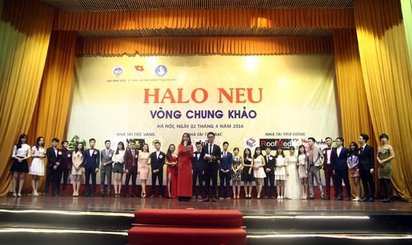 Toàn cảnh đêm chung kết cuộc thi HALO NEU 2016