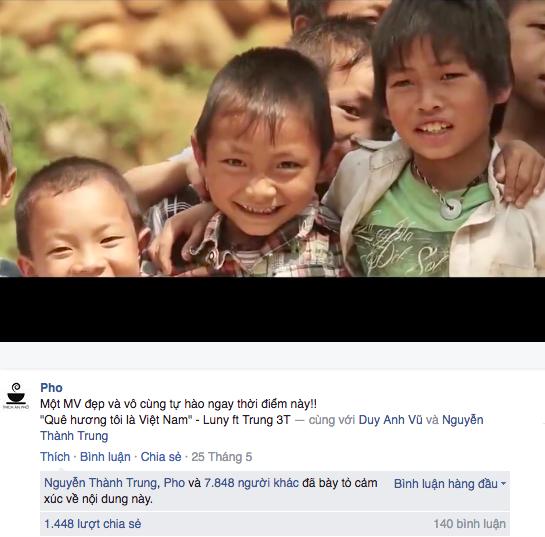 Clip được nhiều trang mạng chia sẻ, đã thu hút hàng ngàn lượt xem và chia sẻ