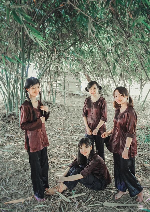 Nhóm sinh viên Đà Nẵng thực hiện bộ ảnh Trở về tuổi thơ