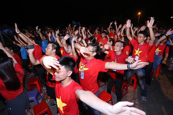 SInh viên Việt Nam từ khắp mọi miền đất nước và du học sinh ở nước ngoài mong muốn góp sức bảo vệ và xây dựng biển đảo.