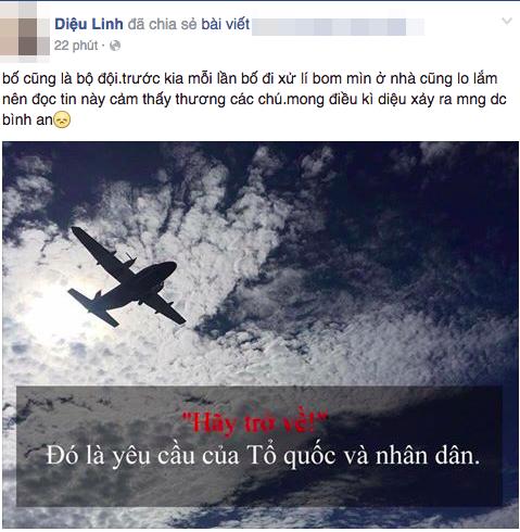 """Hashtag """"Hãy trở về"""" cầu nguyện cho tổ bay CASA-212 phủ khắp mạng xã hội - 10"""