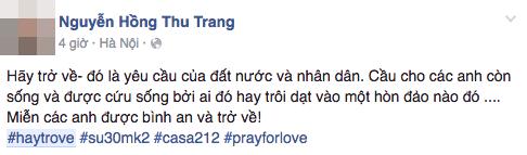 """Hashtag """"Hãy trở về"""" cầu nguyện cho tổ bay CASA-212 phủ khắp mạng xã hội - 9"""