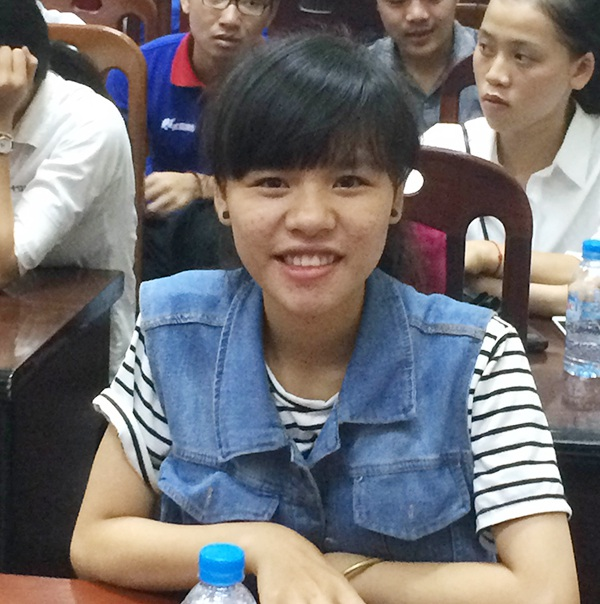 Thí sinh Nguyễn Thị Hạnh