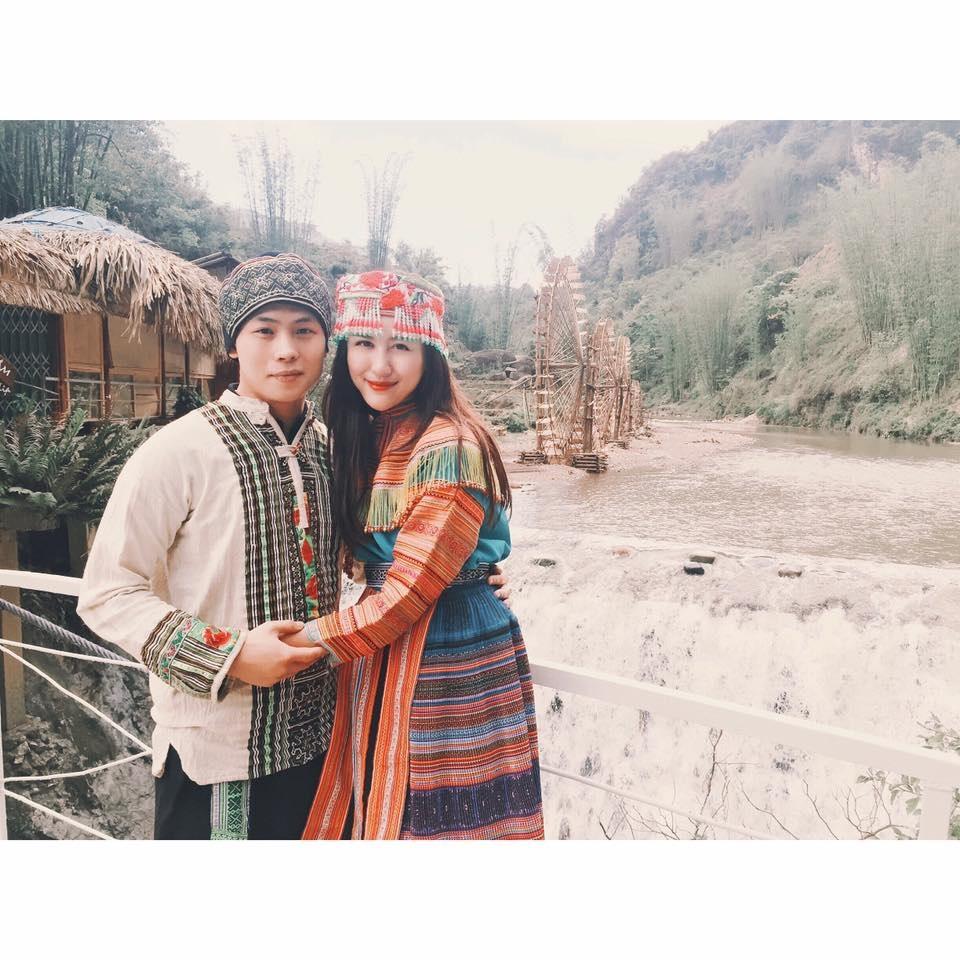 Cặp đôi du lịch ở Sapa