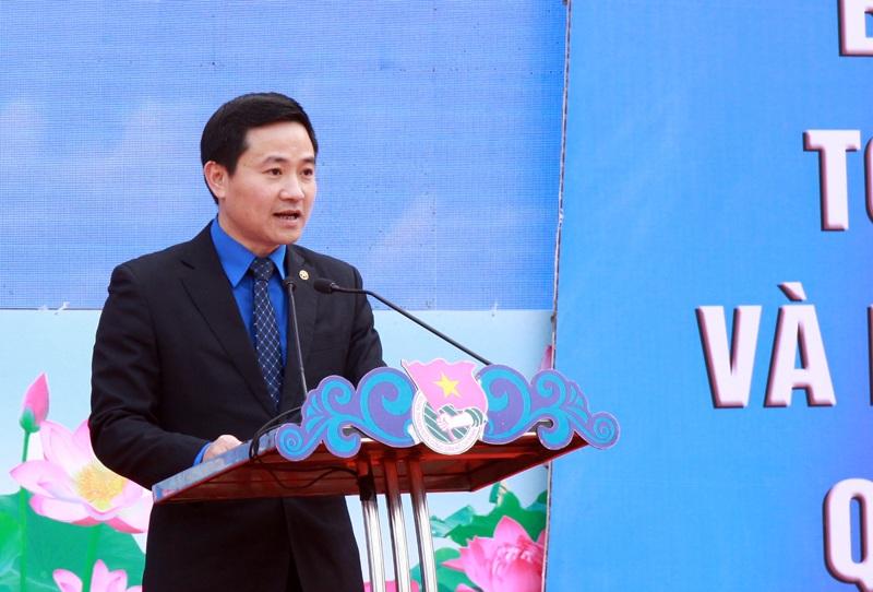 Phó Bí thư Thành đoàn Hà Nội - Trần Anh Tuấn