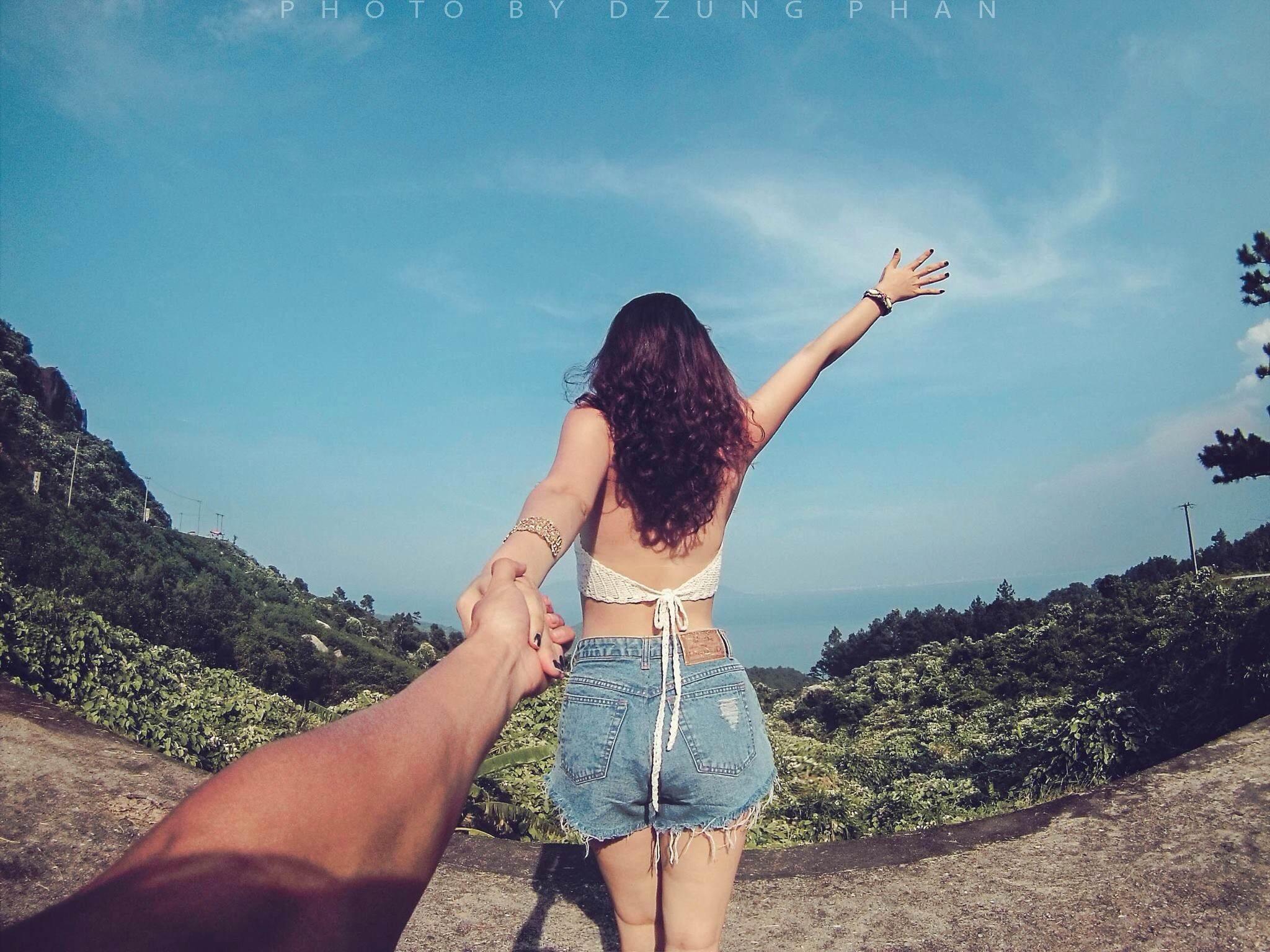 Trong 3 năm bên nhau, Dũng và Trang dành phần lớn thời gian rảnh để đi du lịch. Mỗi nơi hai người đặt chân là một dấu mốc trong tình yêu.