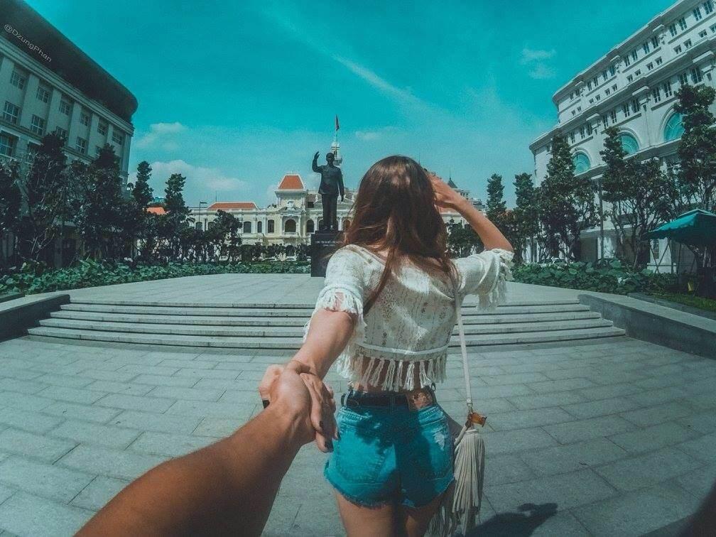 """Bộ ảnh cực """"hot"""" của cặp đôi Việt """"nắm tay nhau đi khắp thế gian"""" - 9"""