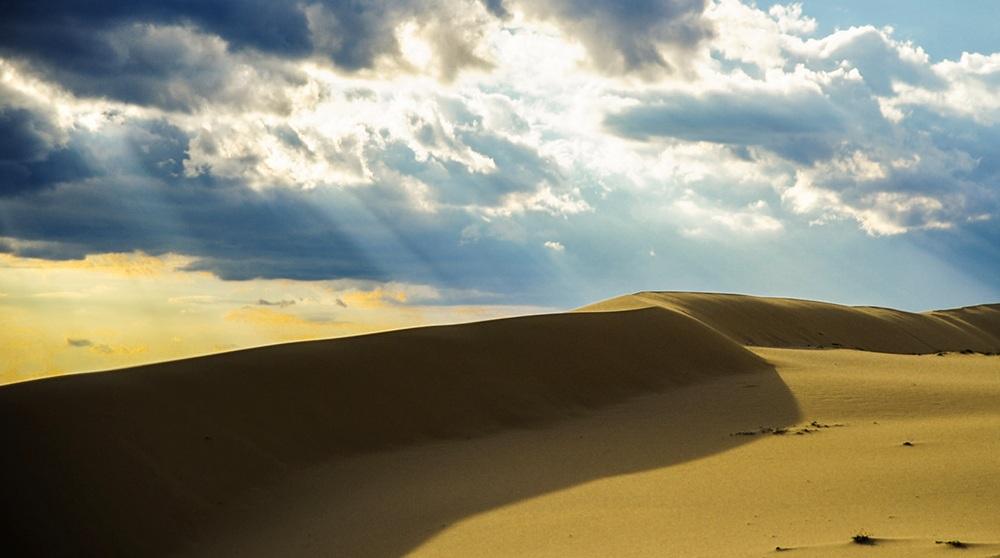 Miền cát trắng Quảng Bình.