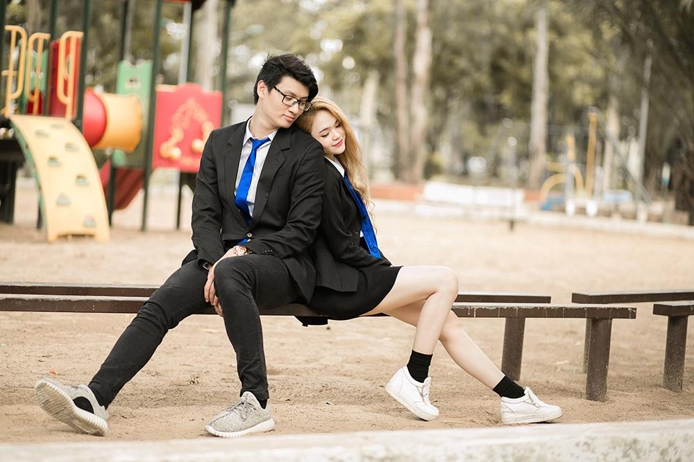 """Cặp đôi yêu xa """"chàng cao 1m90, nàng 1m60"""" nổi tiếng trên mạng - 14"""