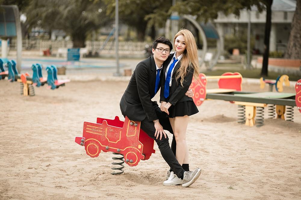 """Cặp đôi yêu xa """"chàng cao 1m90, nàng 1m60"""" nổi tiếng trên mạng - 6"""