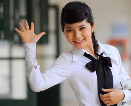 Lala Mai Chi trong Bộ tứ 10A8