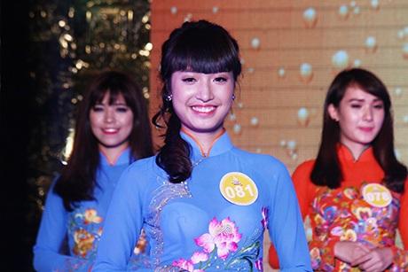 Vũ Thị Thanh Mai trong đêm chung kết cuộc thi Tài sắc Phương Đông 2014. Cô đã trở thành Hoa khôi của cuộc thi này. Hiện nay, Mai là Thủ khoa tốt nghiệp ngành Quản trị kinh doanh của ĐH Phương Đông.