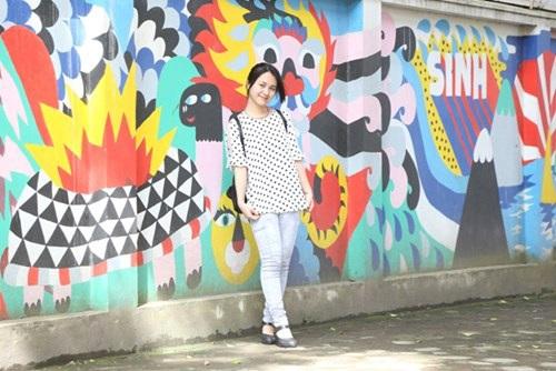 Cô gái xinh xắn nuôi ước mơ trở thành nhà thiết kế thời trang