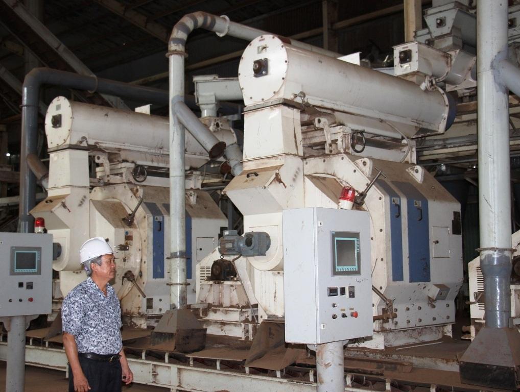 Ông Vui, GĐ Công ty CP Thiện Minh cho rằng việc người dân không cho công ty hoạt động khiến công ty gặp khó khăn