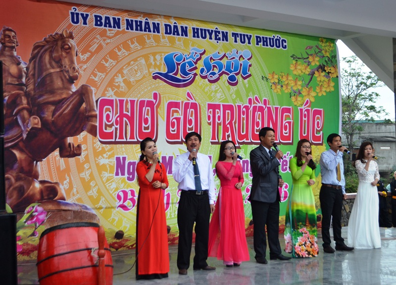Khai mạc Lễ hội chợ Gò Trường Úc huyện Tuy Phước, tỉnh Bình Định
