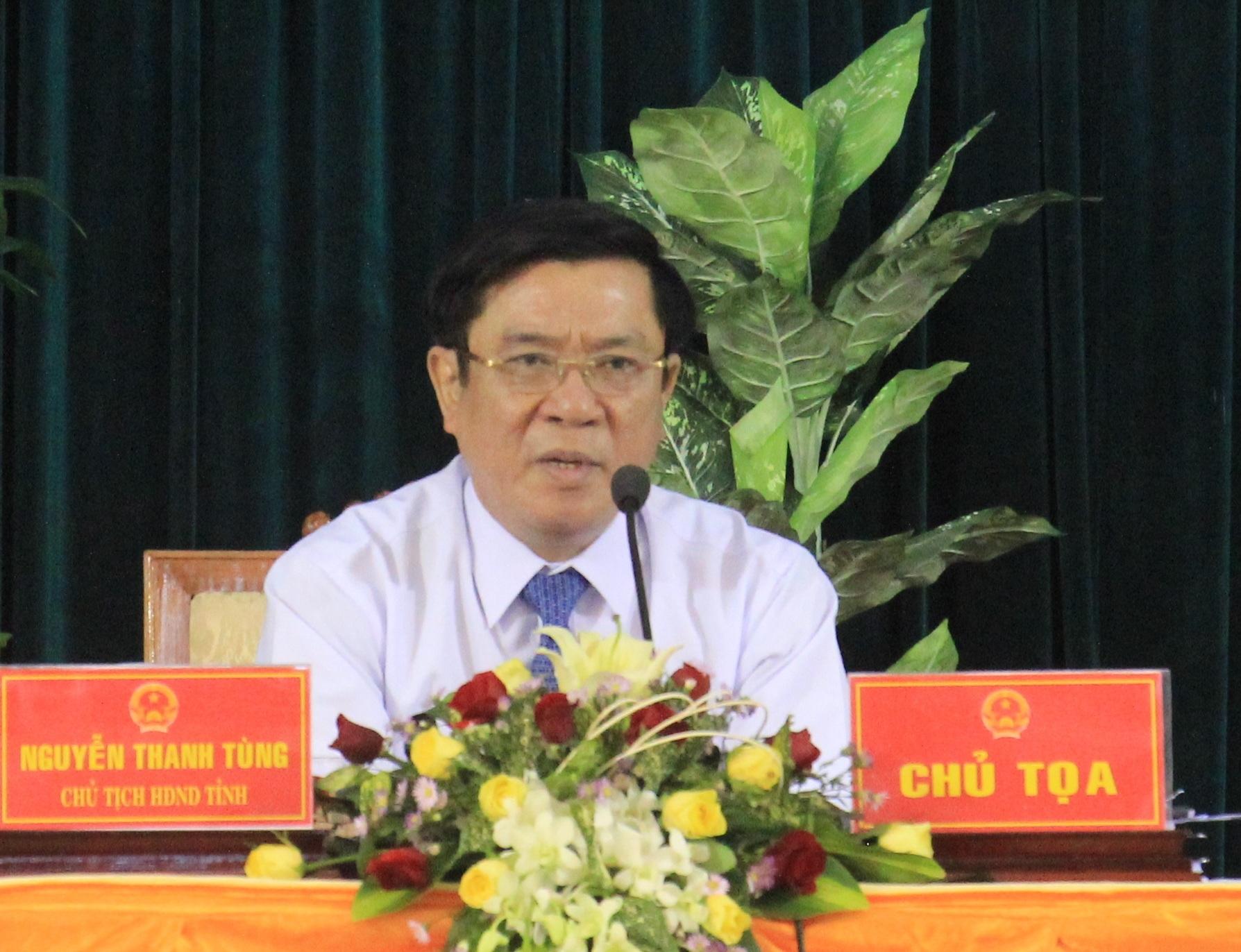 Bí thư Tỉnh ủy Bình Định Nguyễn Thanh Tùng thông báo đã chấm dứt siêu dự án lọc hóa dậu 20 tỷ USD tại Khu kinh tế Nhơn Hội