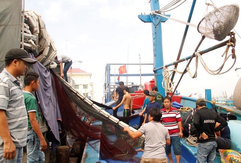 Ngư dân ngày càng trang bị nhiều thiết bị hiện đại để khai thác thủy sản đạt hiệu quả