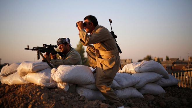 Lính Mỹ chiến đấu tại Iraq (Ảnh: Reuters)