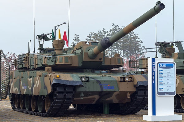 Xe tăng K2 Black Panther của quân đội Hàn Quốc (Ảnh: Army Technology)