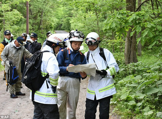 Lực lượng cứu hộ Nhật Bản đang lên kế hoạch tìm kiếm cậu bé mất tích (Ảnh: AP)