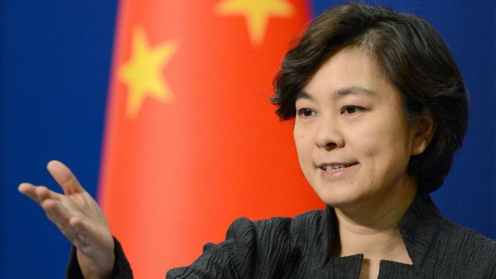 Người phát ngôn Bộ Ngoại giao Trung Quốc Hoa Xuân Oánh (Ảnh: SCMP)