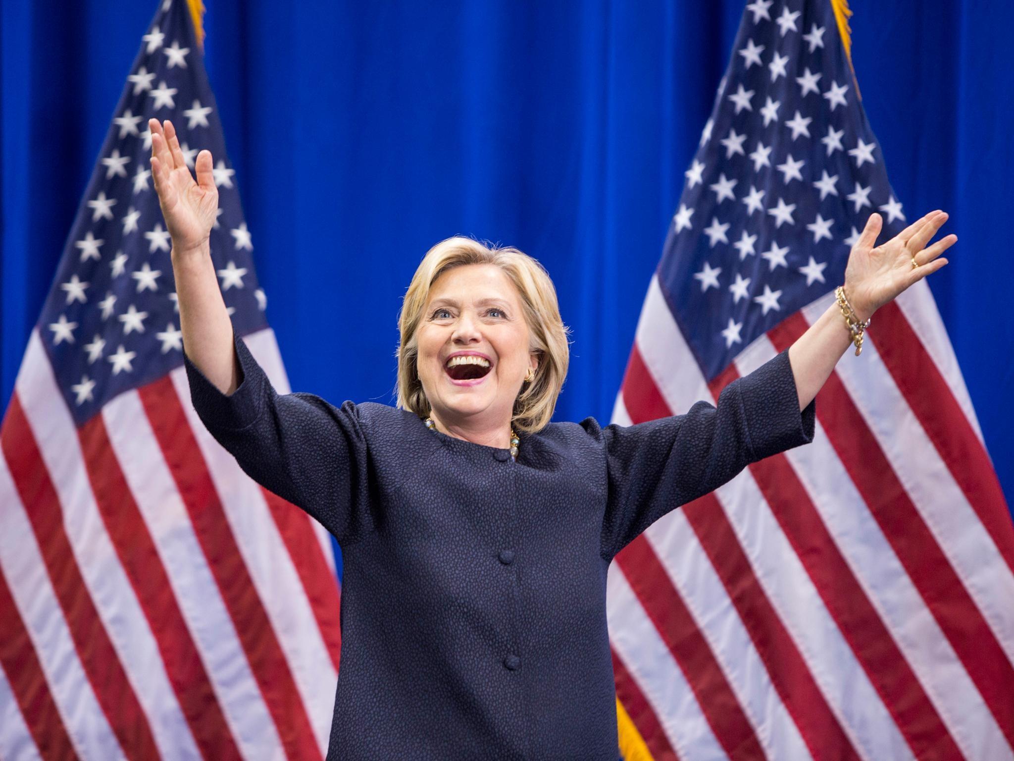 Cựu Ngoại trưởng Mỹ Hillary Clinton (Ảnh: USAONLINE)