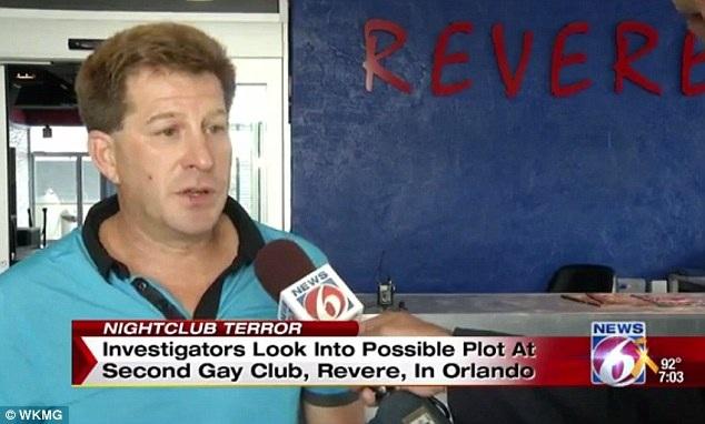 Chủ hộp đêm Revere ở thành phố Orlando, Micah Bass (Ảnh: WKMG)