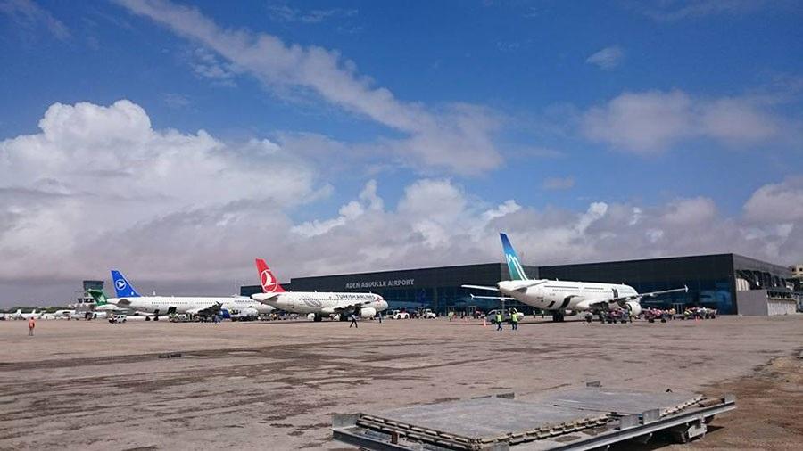 Sân bay quốc tế Aden Adde, Somalia (Ảnh: Wikipedia)