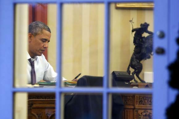 Tổng thống Obama tự nhận mình là người sống về đêm (Ảnh: Reuters)