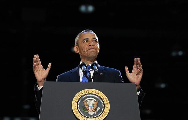 Những đêm thức khuya nhất của Tổng thống Obama thường có liên quan tới những bài phát biểu (Ảnh: Reuters)