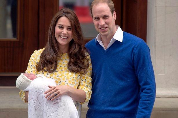 Ngày 2/5/2015, Công nương Kate hạ sinh con gái thứ 2 là Công chúa Charlotte Elizabeth Diana (Ảnh: PA)