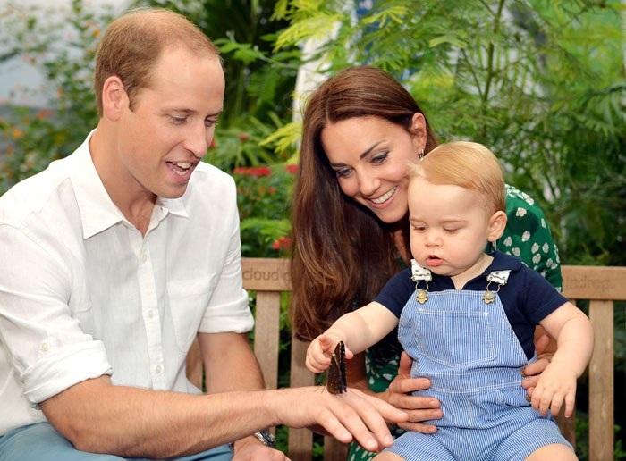 Hoàng tử George là một cậu bé rất hiếu động và luôn tò mò về mọi thứ xung quanh (Ảnh: Dailymail)