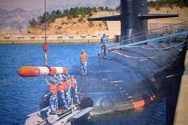 Ảnh chụp tàu ngầm Type 093 mới của Trung Quốc (Ảnh: Diplomat)