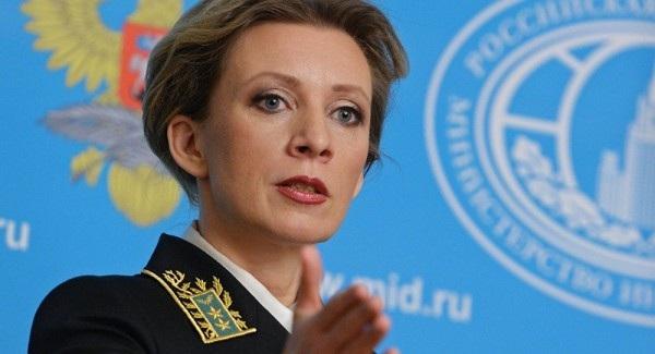 Người phát ngôn Bộ Ngoại giao Nga Maria Zakharova (Ảnh: AFP)