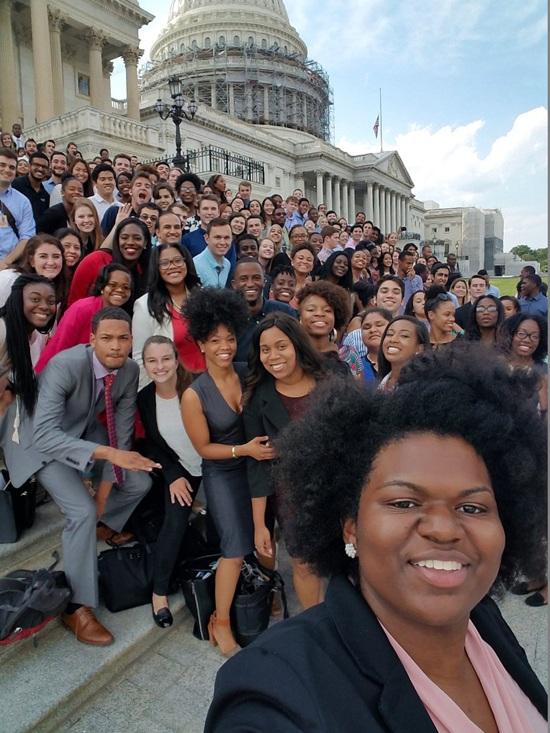 Bức ảnh được nghị sĩ Eddie Bernice Johnson đăng tải (Ảnh: Dailynews)