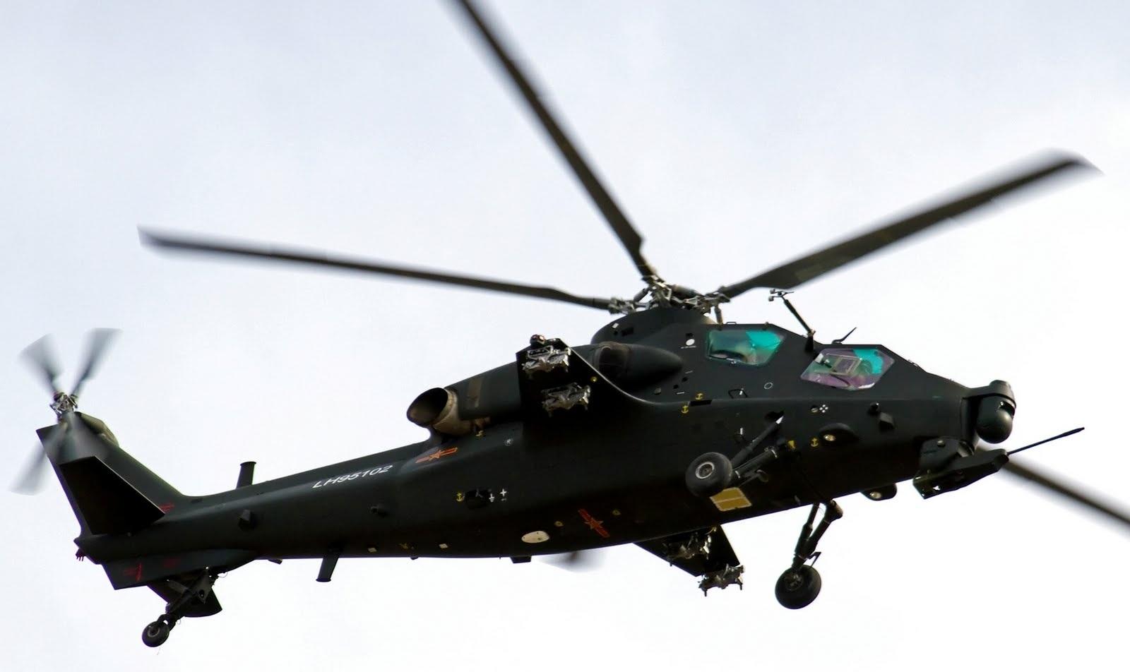 Trực thăng Z10 của Quân giải phóng Nhân dân Trung Quốc (Ảnh minh họa: Globalmilitaryreview)